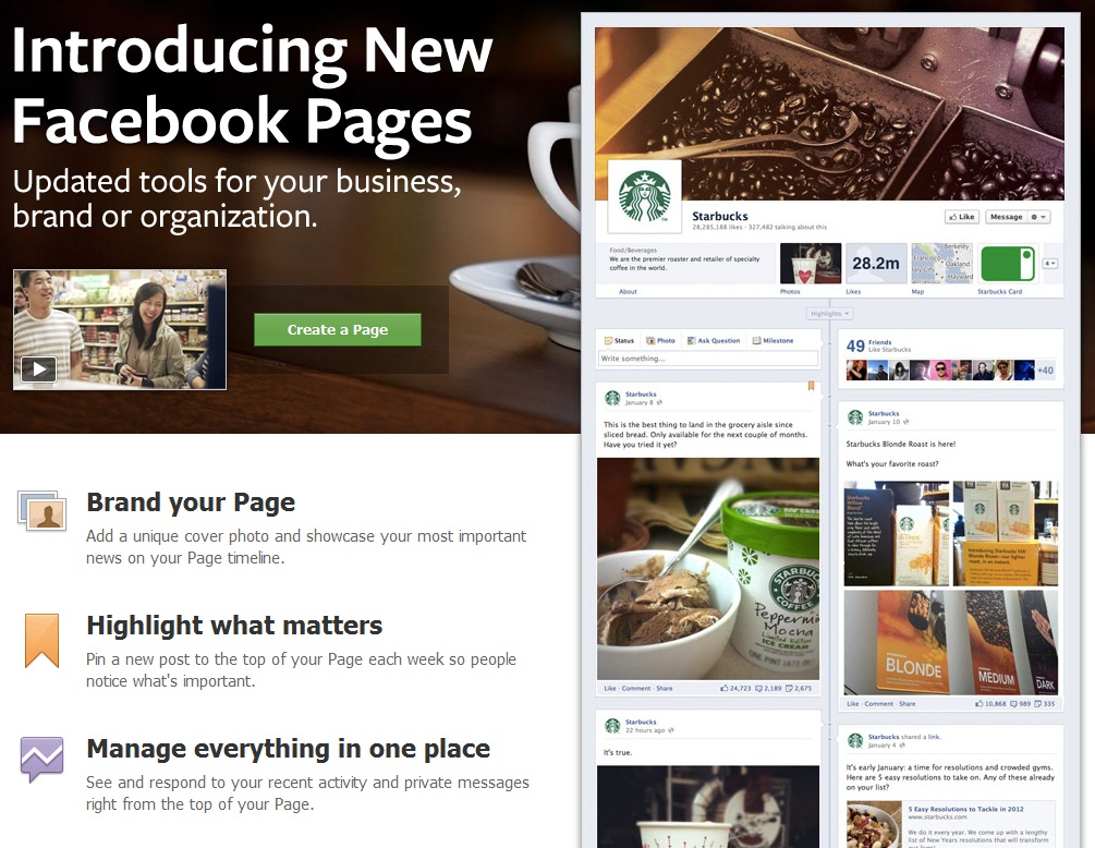 At the end of this month, Facebook will be changing the face of business pages so to speak.  The layout of business pages will change significantly – similar to the […]