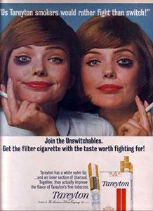 Tareyton Cigarette Ad 1965