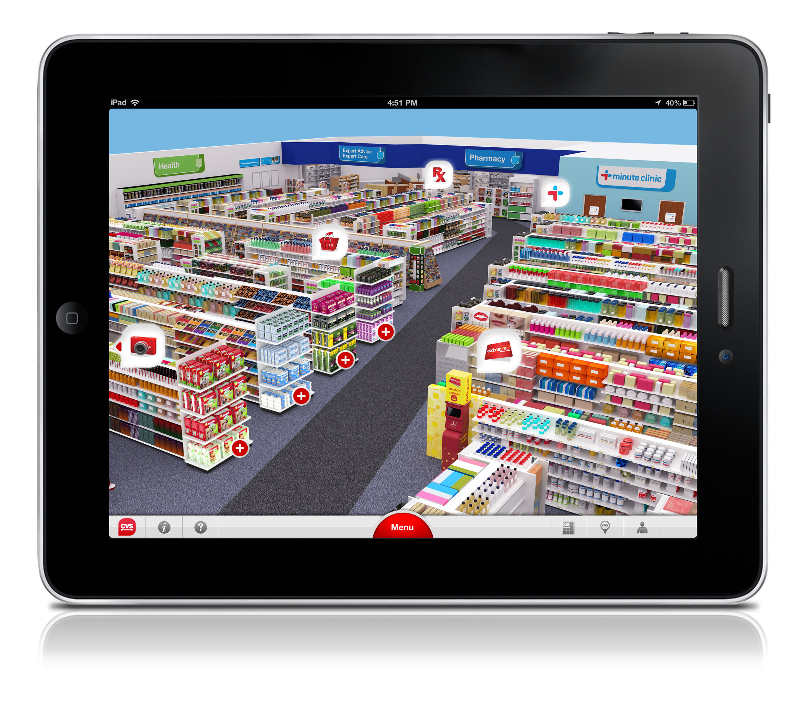 cvs  pharmacy launches ipad app virtual store and digital pharmacy experience