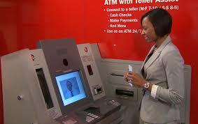 wells fargo video ATM