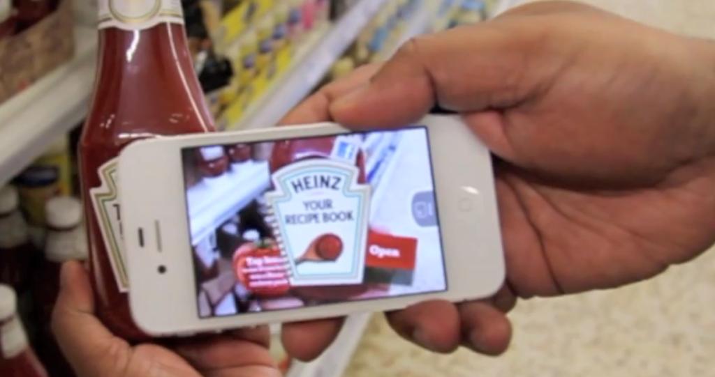 Blippar Heinz Ketchup Ad